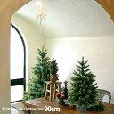 【クリスマス用品:2021年10月入荷分ご予約!】NEWクリスマスツリー90cm【RS GLOBAL TRADEグローバルトレード:正規輸入品】もれなく収納袋プレゼント!送料無料!※沖縄北海道他除くの商品画像