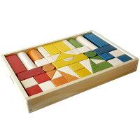 木のおもちゃの定番です。ボーネルンドオリジナル木製積木カラー【お誕生日・ご出産祝】人気商品