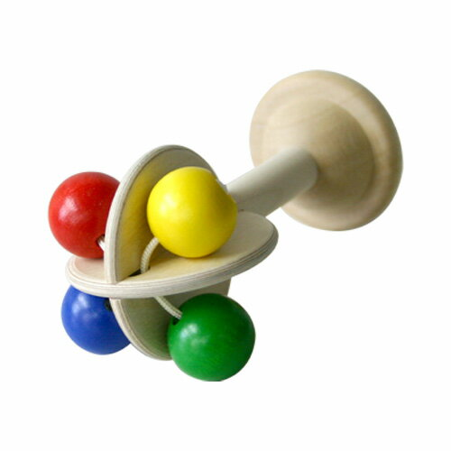 ★ all point up! ★ Niki popular product!: rattle-rattle, pacifier, wood toy 10P01Sep13