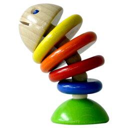 【ベビー向けおもちゃ】HABA:[ハバ社]ラトル モビー【楽ギフ_包装】【楽ギフ_のし】