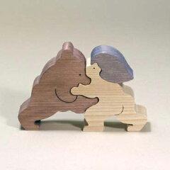 小黒三郎:コンパクトで温かい組み木の五月人形・こいのぼり・初節句祝いや季節のインテリアに...
