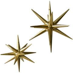 木製オーナメント【ベツレヘムの金の星大】クリスマス木製オーナメント【ベツレヘムの金の星大...
