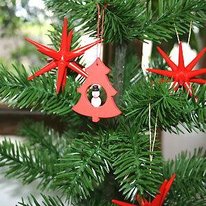 【クリスマス用品】オーナメント・ツリーと雪だるま[ Christmas:クリスマスオーナメント ]