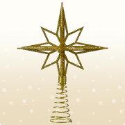 クリスマス シャンペン スターツリートップ ゴールド