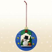 クリスマス ウルプリヒト・リース 雪だるま クリスマスオーナメント