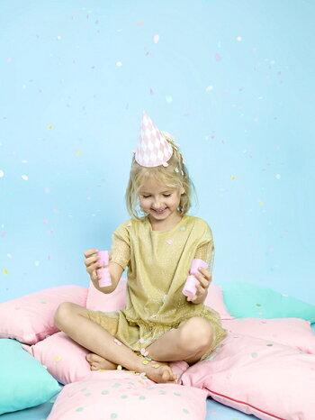 コンフェッティクラッカーミックスコンフェッティクラッカー誕生日バースデー誕生日会ホームパーティー紙吹雪ベビーシャワーウエディングパーティーテーブルコーディネートおしゃれかわいい[PartyDeco]