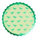 恐竜 ペーパープレート [8枚入り] ダイナソー 紙皿 男の子 誕生日 誕生日会 男の子誕生日 バースデー パーティー テーブルウェア おしゃれ かわいい [GingerRay]