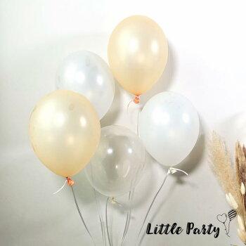 ゴム風船[5枚セット][30cm12インチ]風船パーティーバルーンクリアバルーンナチュラルピンク誕生日バースデー装飾飾り付けデコレーション女の子男の子おしゃれかわいい