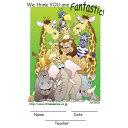 【英語の先生にオススメ カード・英語教材】ウィ−・シンク・ユー・アー・ファンタスティック We think you are Fantastic!の商品画像