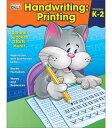 ハンドライティング・プリンティング Handwriting Printing, Grades K-2【小学生にオススメ 英語教材】の商品画像