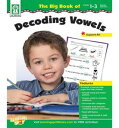【帰国子女低学年にオススメ 英語教材】ザ・ビック・ブック・オブ・デコーディング・ヴァウエルズ The Big Book of Decoding Vowels, Grades 1 - 3の商品画像