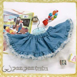 panpantutu(パンパンチュチュ)フェアリースカート/ライトデニム/Sサイズ(0~2、3…