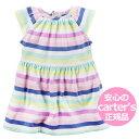 カーターズ 半袖ワンピース Carter's 正規品 女の子ベビー服 ボーダー