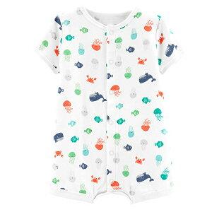 ≪難あり≫カーターズロンパースCarter's春夏最新作アウトレット半袖ロンパース女の子ベビー服バタフライ