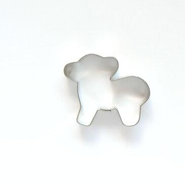 クッキー型 クッキーカッター 抜き型 【ひつじ ミニサイズ】