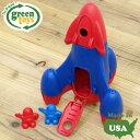 おもちゃ ロケット 外遊び 玩具 誕生日 プレゼント ギフト 子供 おしゃれ かわいい アメリカ製 輸入玩具 エコ アメリカ・GreenToys グリーントイズ ロケット レッドトップ