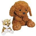 おやすみワンちゃん 寝るぬいぐるみ タッチセンサー 知育玩具 トイプードル 柴犬 犬 ぬいぐるみ 動く リアル 子犬 仔犬 おもちゃ イヌ かわいい