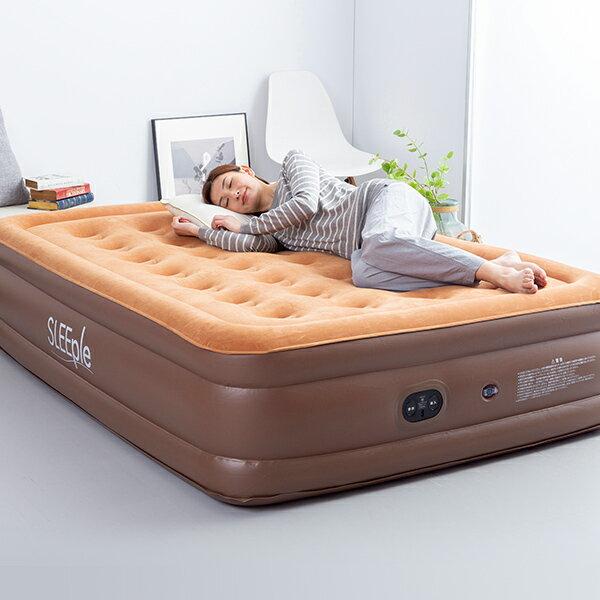 エアーベッドダブルエアベッド電動電動エアーベッドエアーマット自動で膨らむポンプ内蔵電動ポンプ厚さ46cm簡易ベッド収納バッグ付き