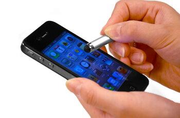 【アクセサリータッチペンM】iPad2、iPhone4S、iPodtouch、スマートフォン(スマホ)対応タッチパネル専用ストラップタッチペン使わないときはストラップに!