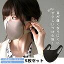 洗えるマスク 5枚セット 普通サイズ 立体マスク 男女兼用 ...