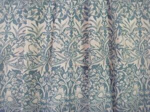 ブレアラビット Brer Rabbit ウィリアムモリス オーダーカーテン幅90センチ 片開き