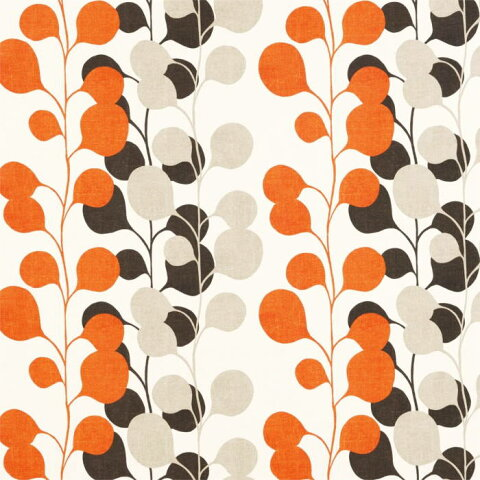 【ハーレクインHARLEQUIN ポッド オレンジ9336 】マリメッコ、ボラス、ウィリアムモリス、ハーレクインetc海外ブランド生地1巾50cm単位カット販売