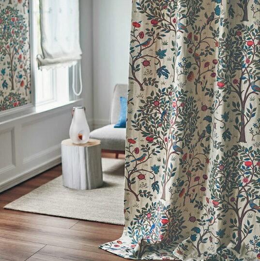 フィーロfilo川島織物セルコンのウィリアムモリスのオーダーカーテン