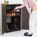 【送料無料】女性に大人気シューズボックス! 下駄箱 クイッカー シューズBOX シューズボックス 靴箱 靴入れ 靴 収納 玄関 玄関収納 コンパクト 省スペース 木製 大量