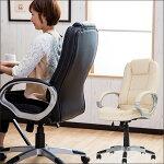 【送料無料】オフィスチェアベル6158HDチェアチェアーパーソナルチェアパーソナルチェアーデスクチェア合成皮革回転肘付北欧ガス圧昇降式椅子ロッキング【新生活2017】