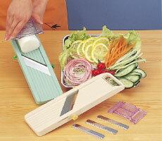 【送料無料】野菜の下ごしらえはこれ1丁ですべてOK!ベンリナー スライサー 万能野菜調理器 ...