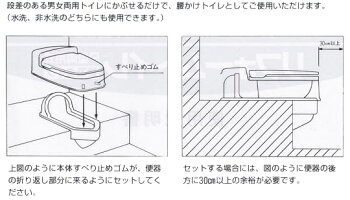 山崎産業リフォームトイレ両用式