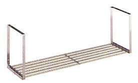 田窪工業所 水切りパイプ棚Sタイプ 1段 PS1-180 W1800×D250×H300mm 吊戸棚