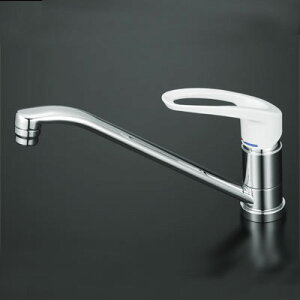 コンパクトキッチンに最適サイズKVK シングルレバー水栓 KM5011 混合水栓 樹脂ハンドル