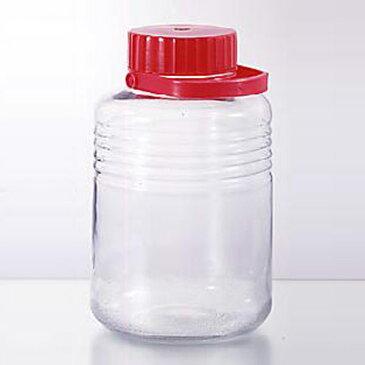 梅酒ビン 10号 8L( 保存ビン 果実酒 びん ガラス )