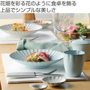 プレート 9cm 輪花皿 花皿 花シリーズ 洋食器 陶器 日本製 同色5枚セット ( 食器 皿 器 小皿 おしゃれ 花 花びら 和食器 瀬戸焼 花型 )