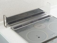 排気口カバーコンロ奥ラックコンロ奥カバー&ラックステンレス製60cmコンロ用