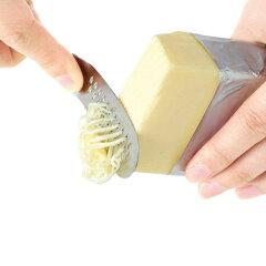 バターナイフ とろける!バターナイフ ステンレス製 おろし付き バターカッター ( キッチン用…