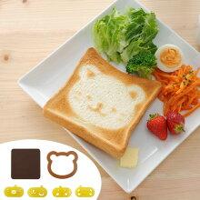 トーストアート nicoキッチン こんがりアニマルトースト