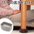 こたつの高さをあげる足 AKO-04 ( こたつ 継足し 継ぎ足 継脚 テーブル脚台 高さ調整 暖房器具 スマイルキッズ )