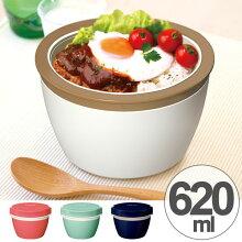 保温弁当箱 カフェスタイルランチ カフェ丼ランチ 620ml ステンレス製