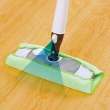 フロアワイパー 本体 スプレー付き 水拭き フローリング スプレーフロアワイパー