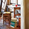 デスク&スツール ルーアン アンティーク ( 送料無料 机 椅子 ドレッサー 鏡台 ミッドセンチュリー 木製 ブラウン )