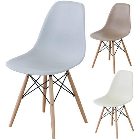 イームズ チェア 椅子 ダイニングチェア ジュレ ( 送料無料 デスクチェア デザイナーズ家具 イームズチェア リプロダクト シェルチェア おしゃれ 木脚 )