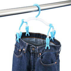ハンガー ズボン用 ジーンズハンガー DX ( 洗濯ハンガー 洗濯物干し ズボンハンガー 洗濯…