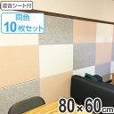 吸音材 吸音パネル 防音フェルトボード ( +吸音 ) フェルメノン 80×60cm 12枚セット 防音 吸音 遮音 ( 送料無料 パネル ボード 吸音ボード 壁 壁面 天井 床 壁に貼る 防音材 騒音 対策 フェルト 防音パネル 遮音シート )