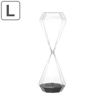 砂時計 ダルトン DULTON ダイアモンド アワーグラス Lサイズ 30分 ( 時計 砂 30分計 タイマー 置き時計 置時計 ガラス インテリア 雑貨 インテリア雑貨 置物 ディスプレー 小物 おしゃれ お洒落 オシャレ )