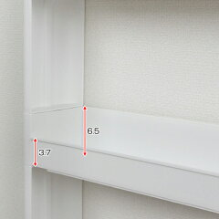 隙間収納ランドリー収納スリムスマートワゴンランドリー幅12.5cm奥行55cm3段組立式