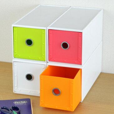 収納ボックス 幅11×奥行26×高さ12cm 1段 fs-720 ファイルストアーズ ヴィヴァン 引き出し 小物収納 収納 ( 収納ケース ケース ボックス プラスチック 小物ケース 小物入れ 卓上収納 デスク収納 レターケース 日本製 )