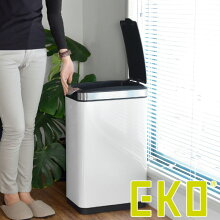 ゴミ箱 ふた付き EKO ティナ タッチビン 30L ホワイト