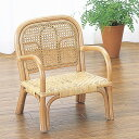 子供いすラタンローチェア籐家具座面高20cm( 送料無料 子供部屋 木製 ベビーチェア 椅子 いす チェアー 子供用 こども用 子ども用 キッズ )